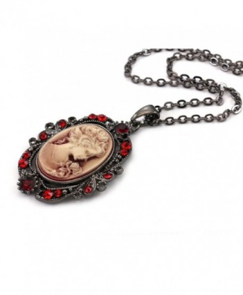 Cameo Pendant Necklace Fashion Jewelry in Women's Chain Necklaces
