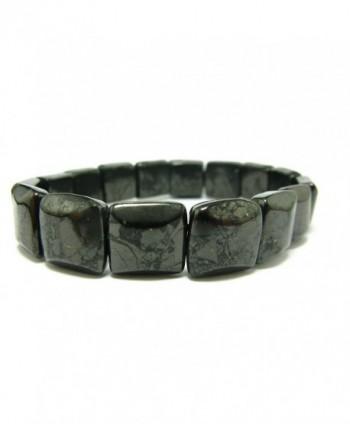 Shungite Bracelet Russia Squared Beads