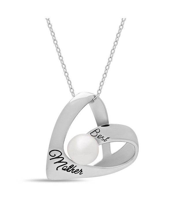 Sterling Elegant Necklace Simulated Engraved - C912CAV31F3