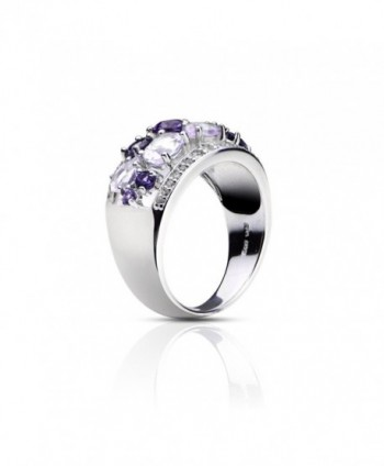 Sterling Silver 2 4ct African Amethyst
