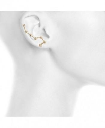 Lux Accessories Celestial Threader Earrings in Women's Cuffs & Wraps Earrings