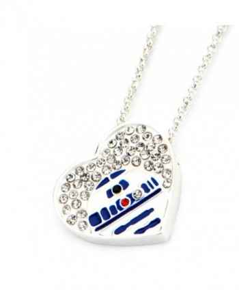 Star Wars Jewelry Crystals Necklace in Women's Pendants