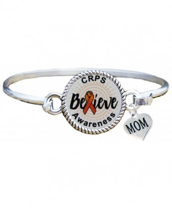 Bracelet Custom CRPS RSD Awareness Believe MOM OR DAD charm ONLY Silver Jewelry - CQ182S7K33H