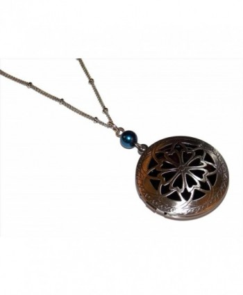 Diffuser Necklace Filigree Essential Aromatherapy