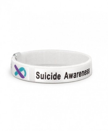 Suicide Awareness Bangle Bracelet in a Bag (1 Bracelet - RETAIL) - C0186ULGD5N