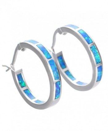 Bamos Jewelry Christmas Friend Earrings - Blue - CE12KPEBTJN