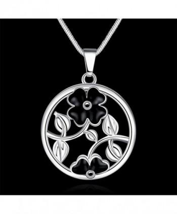 Tobert Womens Silver Pendant Necklace