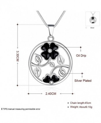 Tobert Womens Silver Pendant Necklace in Women's Pendants