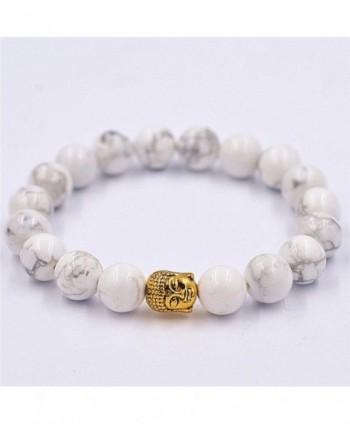 MALLOOM Buddha Bracelet Elastic Bracelets