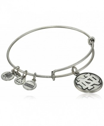 Alex and Ani Collegiate University of Notre Dame Wire Bangle Bracelet - CK119RCLDCN