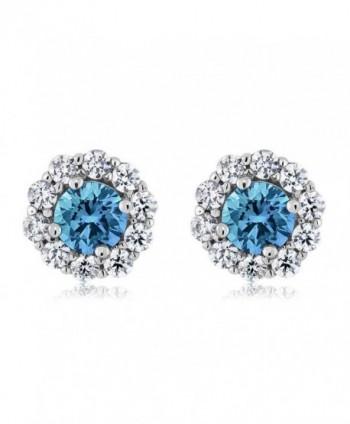 Gemstone Birthstone Sterling Silver Earrings