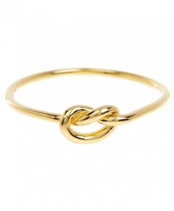 Sterling Forever - Love Knot Ring in Gold Vermeil- Knot Ring- Promise Ring - CP12O6WBKW5