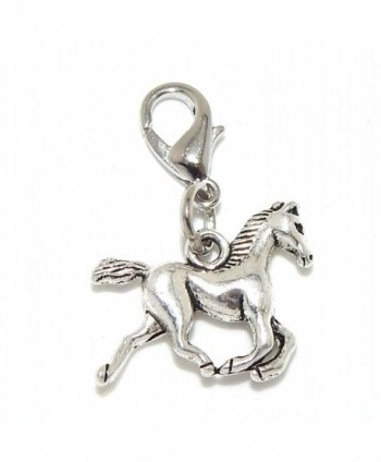 "Pro Jewelry Dangling ""Horse"" Clip-on Bead for Charm Bracelet 29528 - CW11OZ2MRIJ"
