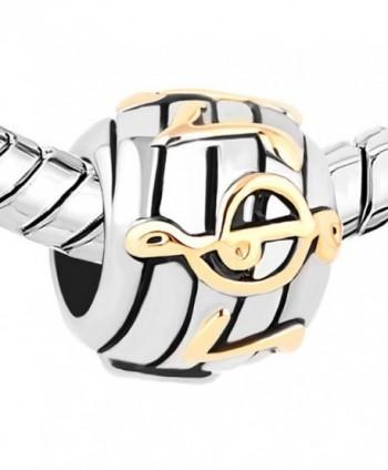 ThirdTimeCharm Golden European Charm Bracelets