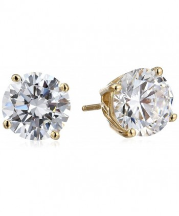 Myia Passiello Timeless Swarovski Zirconia Round Stud Earrings - CJ1102E7U3L