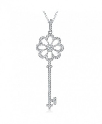 "Necklace- Jewelry Pendant Necklace- Sable ""Secret Garden's Key""- Best Idea Gifts for Girls Women - CC1838WKW0C"