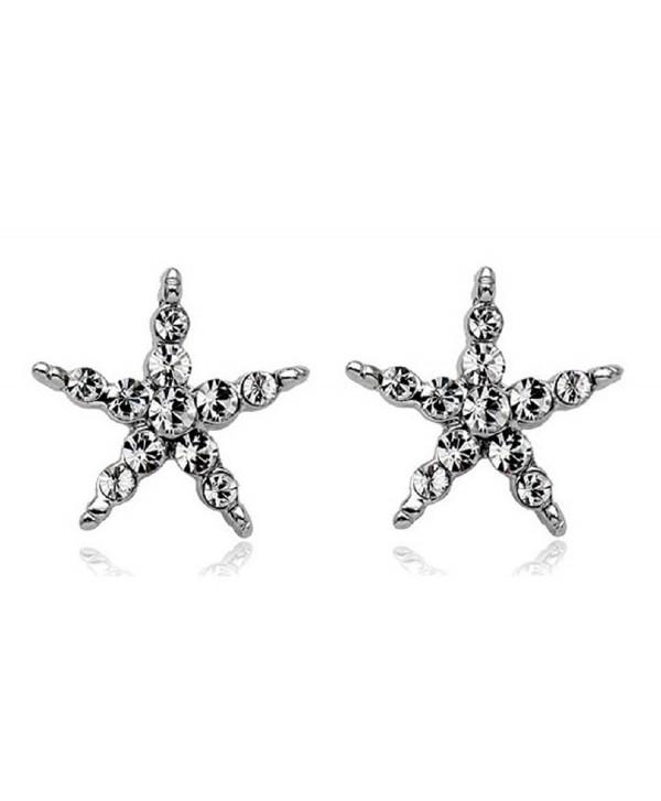 ROMANTIC Zirconia Starfish Gleaming Comfor fit - C4189WDLW6Y