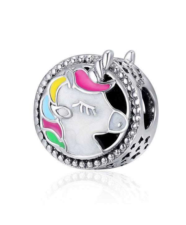 Kiss Mythical Sterling European Bracelet - Enamel - CF188T83C5D