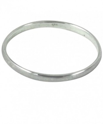 apop nyc Sterling Silver 2mm Band MiDi Ring Stacking (Size 2 - Size 4) Unisex - CD11UB0T84Z