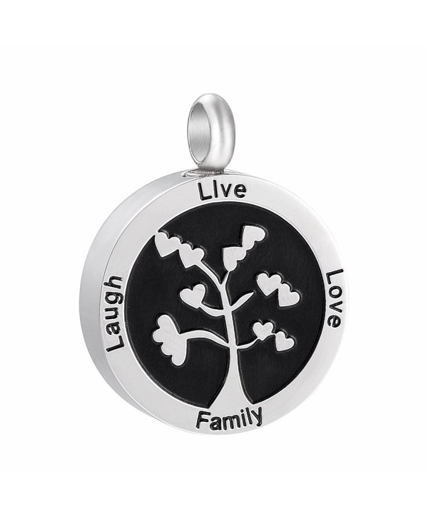 Snowflakes Cremation Jewelry for Ashes Pendant Urn Lockets for Ashes with Hollow Urn Jewelry