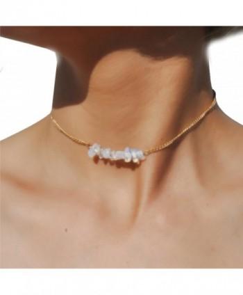 Dainty Opalite Necklace Minimalist Jewellry