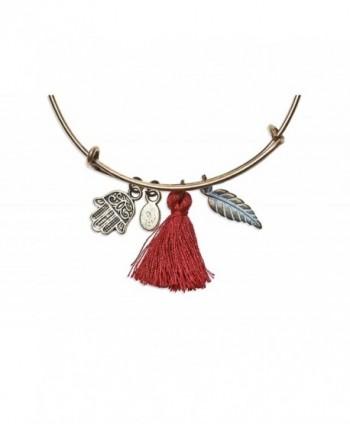 Locas Biju Handmade Pendants Bracelet in Women's Strand Bracelets