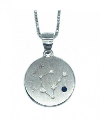 Helen de Lete 12 Constellation Sign Sterling Silver Choker Necklace - CF12N8QASWR