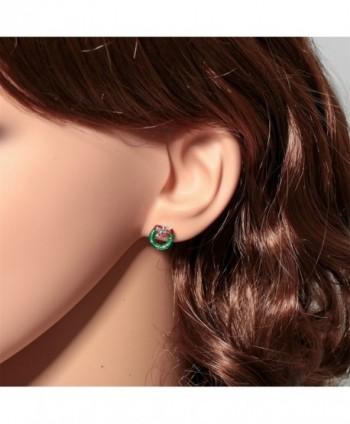 YACQ Sterling Christmas Earrings Thanksgiving