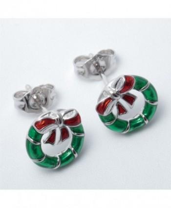 YACQ Sterling Christmas Earrings Thanksgiving in Women's Stud Earrings