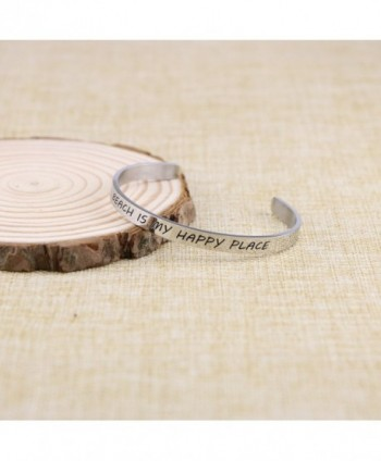 Friendship Bracelet Friend Stainless Engraved in Women's Cuff Bracelets