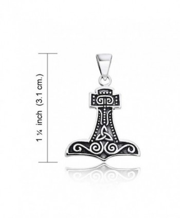 Hammer Celtic Sterling Silver Pendant in Women's Pendants