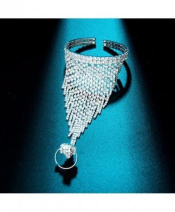 YUXI Wedding Harness Austria Crystal in Women's Bangle Bracelets