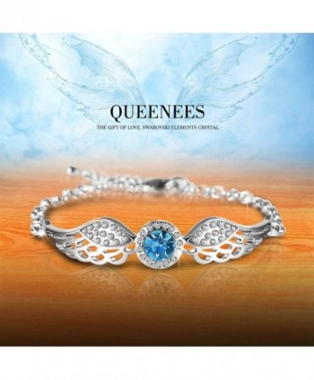 Queenees Swarovski Crystal Bracelet Desinged