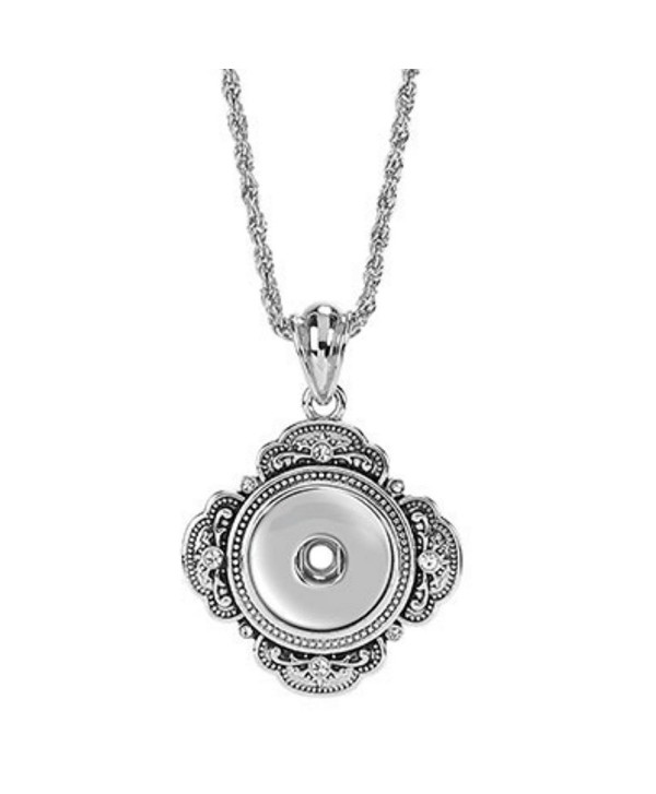 "Ginger Snaps 32"" GRAND NECKLACE SN90-93 Interchangeable Jewelry Snap Accessory - CI11NMOW4RZ"