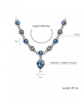 Starshiny Necklace Swarovski Elements Adjustable in Women's Pendants