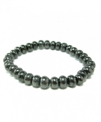 Shungite Bracelet From Russia - Rondelle Beads - CW127XYSWKH