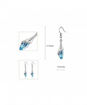 Fortunal ERS3 Teardrop Earrings Necklace