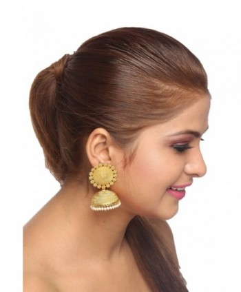 Adwitiya Collection Plated Designer Earring in Women's Jewelry Sets