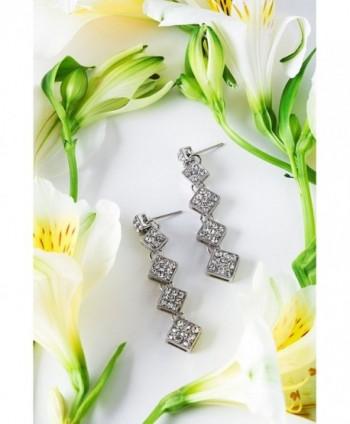 Earrings Rhinestone Crysral Earring rhombus