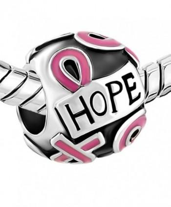 CharmsStory Breast Cancer Awareness Bracelets