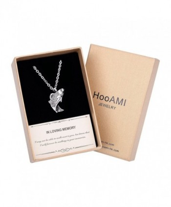 HooAMI Cremation Jewelry Fresh Water Fish Pendant Memorial Urn Necklace - Fish(Gift Box) - CV1854377SK