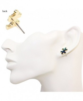 Puzzle Universe Jewelry Earrings gold plated base