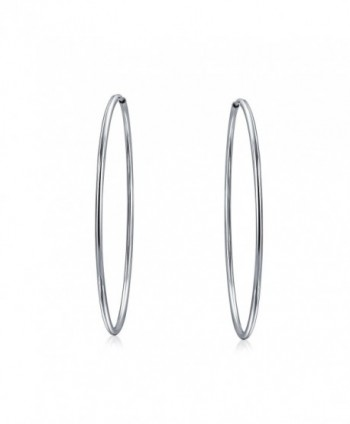 Bling Jewelry Continuous Sterling Earrings