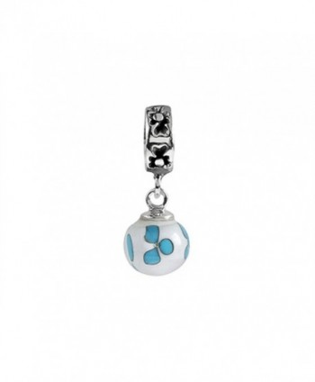 SilveRado Murano Glass Dangle Ball Wind Dance Bead / Charm - CK1166W9F5T