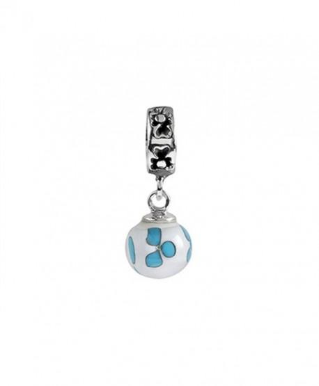 SilveRado Murano Glass Dangle Ball Wind Dance Bead / Charm - CK1166W9F5T