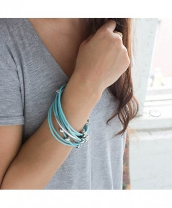 Jewelry Multiple Accents Turquoise Bracelet in Women's Cuff Bracelets