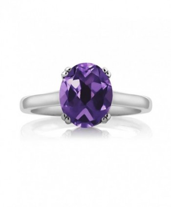 Sterling Silver Amethyst Diamond Available