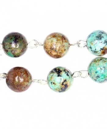 Decade Pocket African Turquoise Gemstones in Women's Pendants