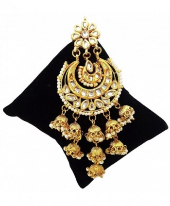 Mehrunnisa Jhumkis Earrings Pearls JWL1937