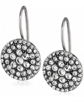 Fossil Womens Vintage Glitz Earrings - Silver - CI11986MIXV